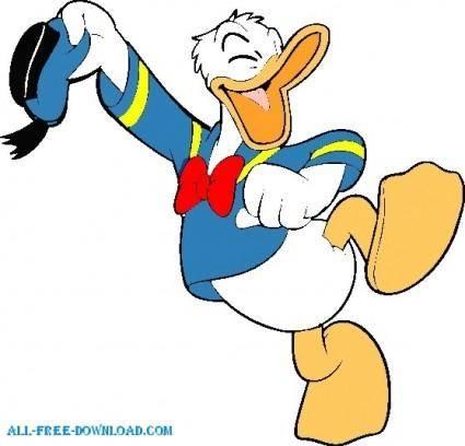 free vector Donal duck 009