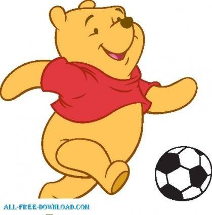 free vector Winnie the Pooh Pooh 036