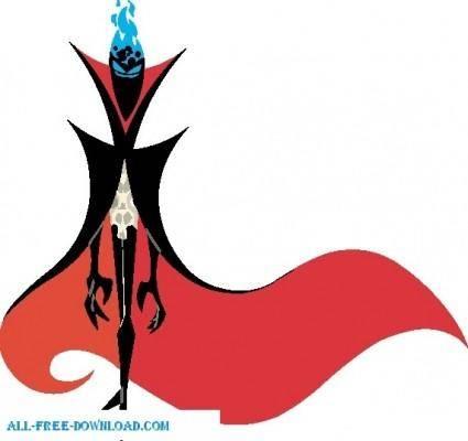 free vector Samurai Jack 006