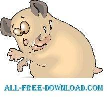 free vector Hamster Cleaning Self