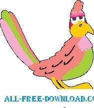 free vector Parrot 17