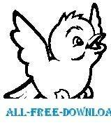 free vector Snow Bird 1