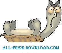 free vector Tortoise On Back 1