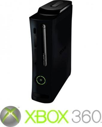 free vector XBOX 360 Elite