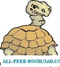 free vector Tortoise Rear
