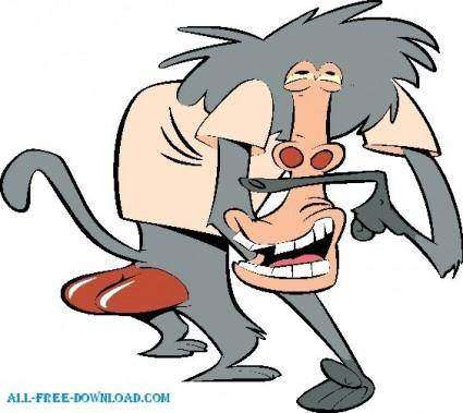 free vector I am weasel 004