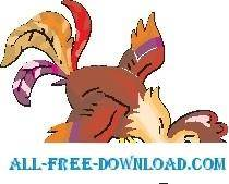 free vector Rooster 21