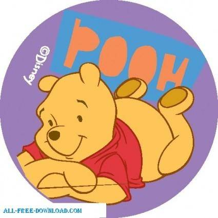 free vector Winnie the Pooh Pooh 019