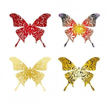 Butterfly vector 969