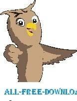 free vector Owl 10