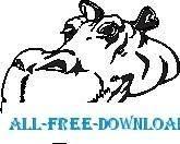 free vector Hippo 06