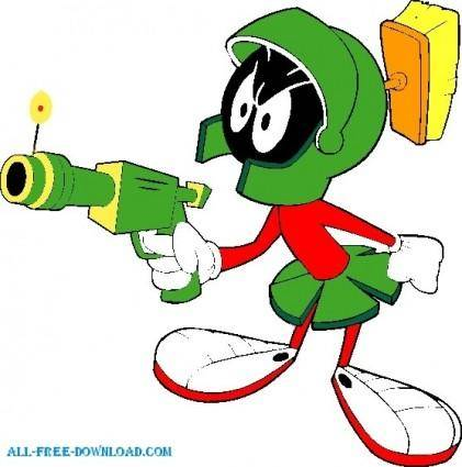 Duck Dodgers marvin 002