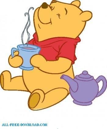 free vector Winnie the Pooh Pooh 021