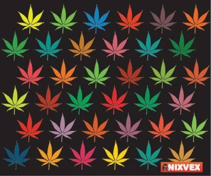 free vector NixVex Free Vector of Colorful Leaves