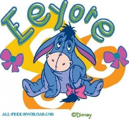 Winnie the Pooh Eeyore 010