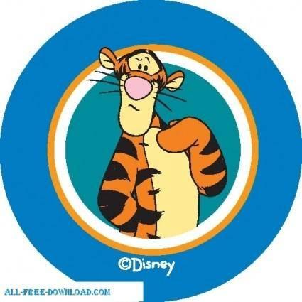 free vector Winnie the Pooh Tigg 006