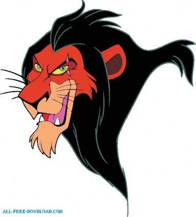 free vector The Lion King Scar 5