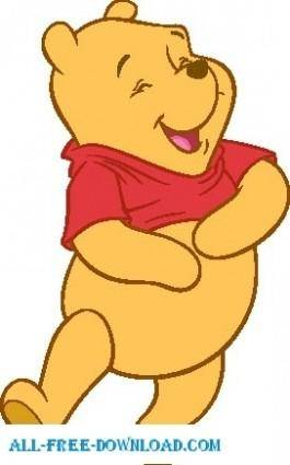 free vector Winnie the Pooh Pooh 009