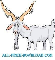free vector Goat Old