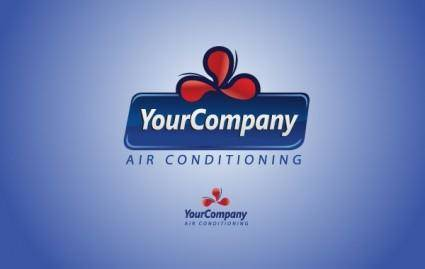 free vector Air Conditioning Logo Template