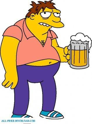 Barney Gumble 01 The Simpsons