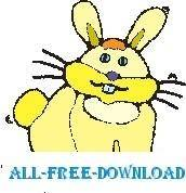 free vector Rabbit 23