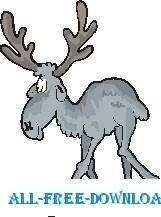 free vector Moose 7