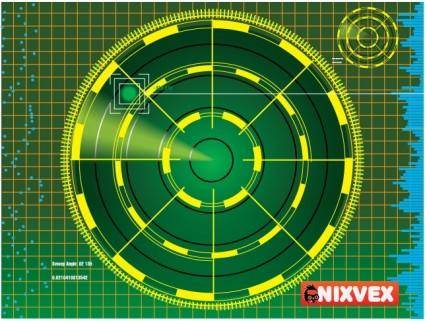 "free vector NixVex ""Radar Screen"" free Vector"
