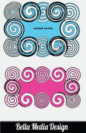 free vector Wicked Swirls