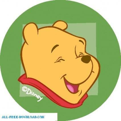 free vector Winnie the Pooh Pooh 030