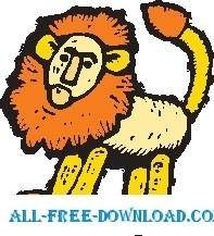 free vector Lion 16