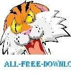 free vector Tiger Roaring