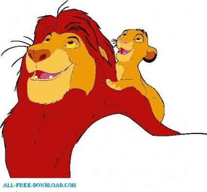 free vector The Lion King GROUP004