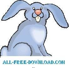 free vector Rabbit 38