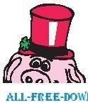 Pig Wearing Hat 1