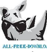 free vector Rhino in Shades 2