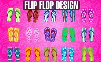 free vector Flip Flop Design