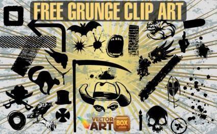 Free Grunge Clip Art