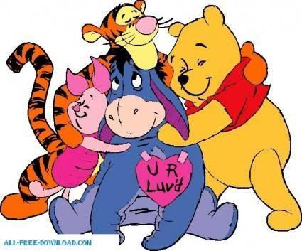 Winnie the Pooh Poohgroup 001