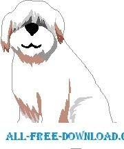 free vector Sheep Dog 3