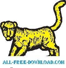 free vector Lioness
