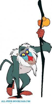 The Lion King Rafiki003