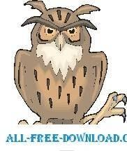 free vector Owl 24
