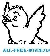 free vector Snow Bird 4