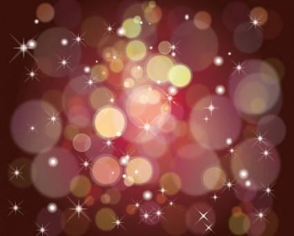 free vector Dark shinig brown bubbles