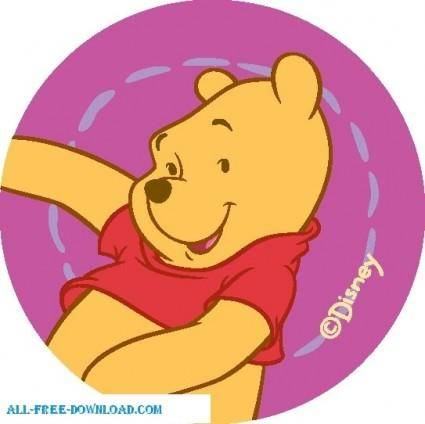 free vector Winnie the Pooh Pooh 012
