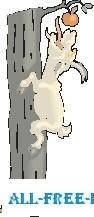 free vector Goat Climbing Tree