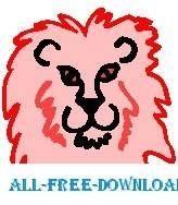 free vector Lion 11