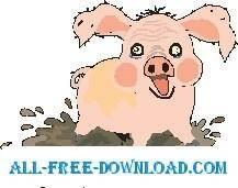 free vector Piglet