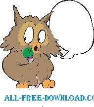 free vector Owl 21